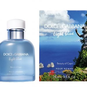 LIGHT BLUE BEAUTY OF CAPRI PERFUME