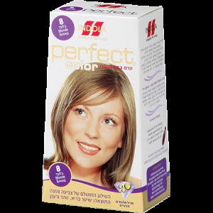 צבע לשיער אינדולה פרפקט קולור מס 8 בלונד