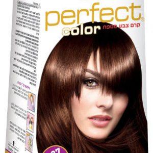צבע לשיער אינדולה פרפקט קולור מס 6.37 שוקולד