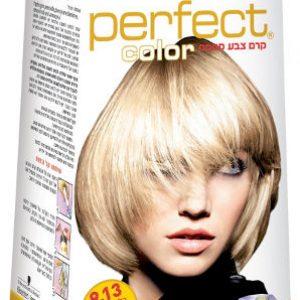 צבע לשיער אינדולה פרפקט קולור מס 9.13 בלונד חושני